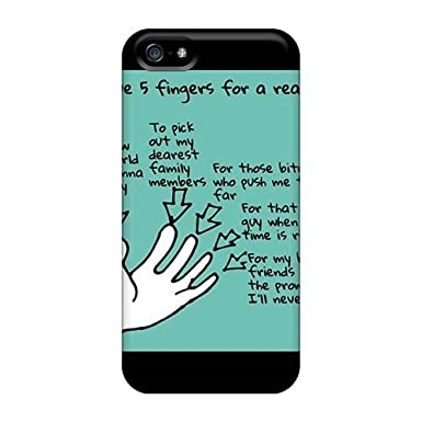 34d65bf8470939 Awesome Case Cover iphone 5 5s Defender Case Cover(5 Fingers)  Amazon.co.uk   Electronics