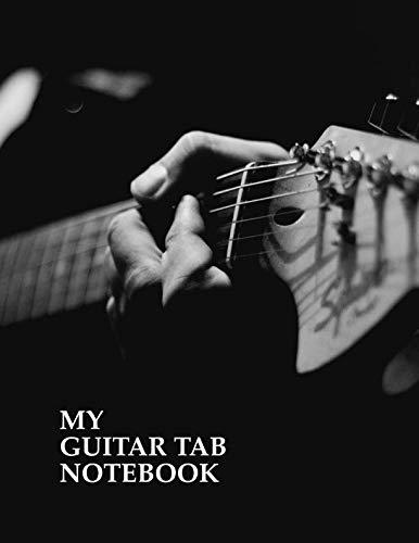 My Guitar Tab Notebook. Blank Guitar Tablature Music Manuscript Sheet Notebook. (Prince Guitar Tab)