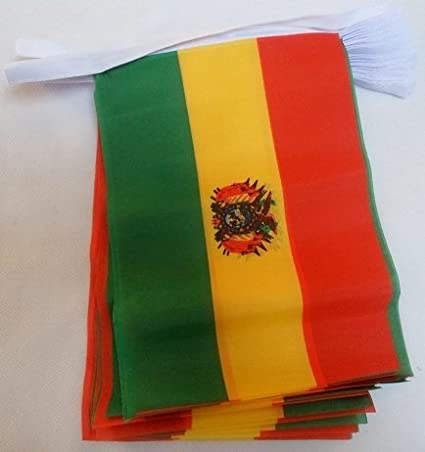 3 metros 10 (22,86 cm x 15,24 cm) de la bandera de Bolivia ...