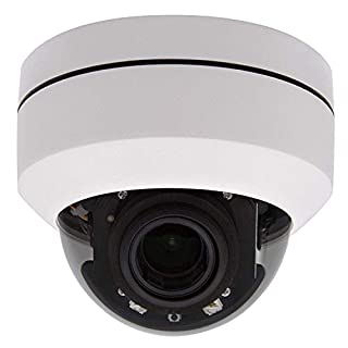 Outdoor 5MP PTZ POE IP Dome Security Ceiling Camera 4X Motorized Optical Zoom Pan Tilt 100FT IR Night Vision Motion Detection Remote View Onvif RTSP Support AT-800DZ