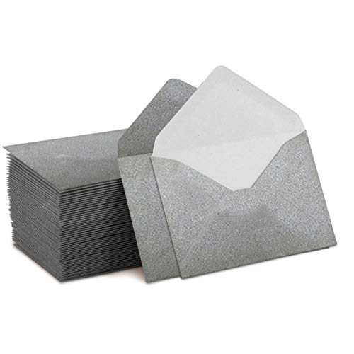 Mini Envelope Punch - Mini Envelopes Silver 4