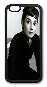 Audrey Hepburn 73 TPU Silicone Case Cover for iPhone 6 4.7 inch Black