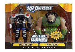 DC Universe Exclusive Justice League Unlimited Action Figure 2Pack Darkseid Kalibak