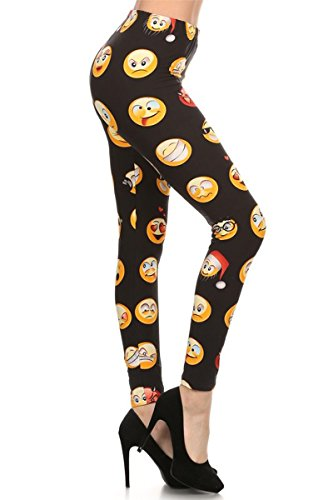Women's Popular Emoji Leggings