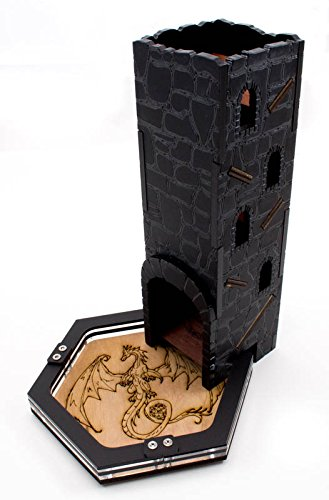 Dragon Stone Dice Tower by C4Labs by C4Labs (Image #5)