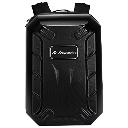 Powerextra Waterproof Hard Case Carry Backpack for DJI Phantom 4, 4 Pro, 4 Advanced, 3 Professional, 3 Advanced, 3 Standard, 3 4K Quadcopter Drone and Accessories