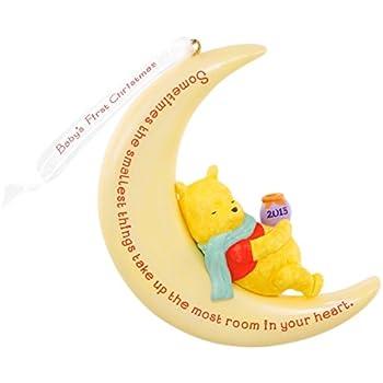 Amazon.com: 2015 Hallmark Keepsake Ornament Disney Winnie the Pooh ...