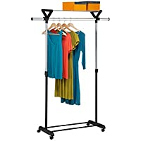 Honey-Can-Do GAR-02123 Extendable/Expandable Portable Laundry Rack Hanger