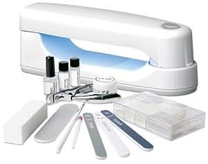 Rio UVLB - Kit de manicura y extensiones de uñas compacto