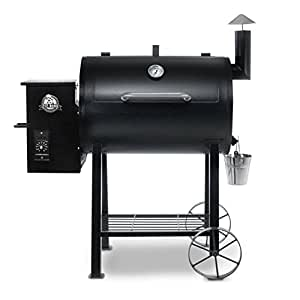 Pit Boss 71820FB Pellet Grill with Flame Broiler, 820 sq. in.