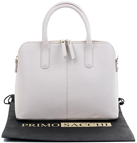Sacchi Tote marca borsetta texture stile Grab tracolla italiana in custodia bowling Primo Include protettiva Crema di pelle o a mano una borsa dxvczwq
