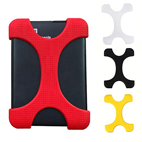 Hard Drive Case 2.5'' Carry Portable Drop-resistance Safe Cover Shake-proof Solid External Protective Lightweight Silicone Anti-shock Elastic by YOTHG (Image #7)