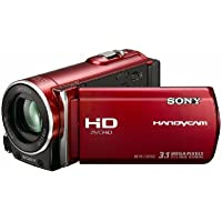 Sony HDR-CX150 16GB High Definition Handycam Camcorder (Red) (Discontinued by Manufacturer)