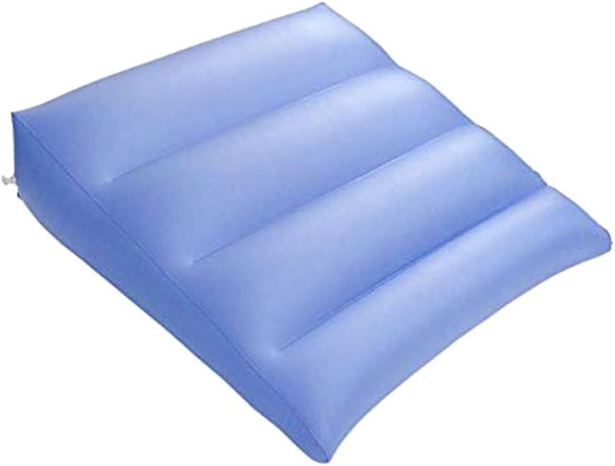 SUPVOX 1pc Inflatable Cushion Air Pillow Inflatable Seat Cushion Blow Up Cushion Inflatable Pillow for Home Outdoor Travel