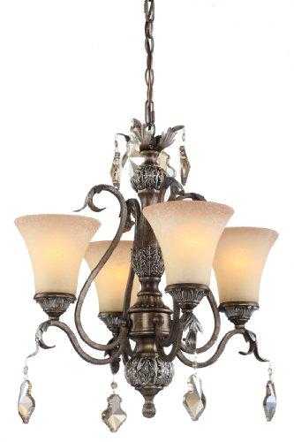 Artcraft Lighting Vienna 4-Light Chandelier
