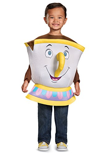 Cup Of Tea Costumes (Chip Deluxe Toddler Costume, One Size (Up To Size 6))