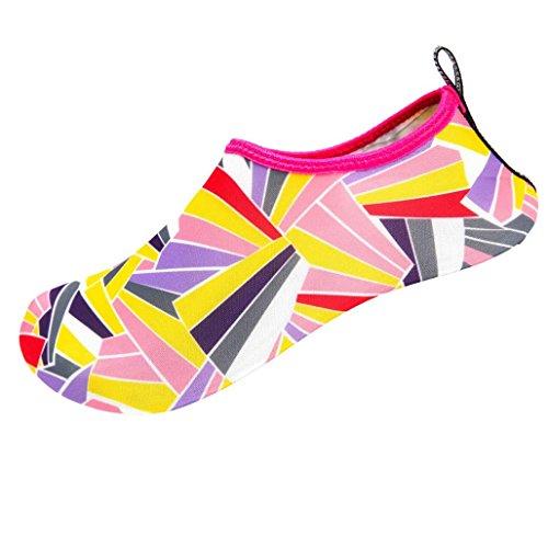 buy online 44871 1fe58 Hommes Femmes Eau Peau Chaussures Sikye Slip-on Casual Surf Plage Danse  Chaussures De Bain