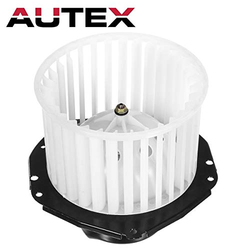 AUTEX HVAC Blower Motor Assembly Compatible with CHEVROLET C/K 1500 2500 3500 PICKUP 1992-1996 Replacement for CHEVY TAHOE,GMC YUKON,CHEVY K1500 K2500 SUBURBAN 95 96 Blower Motor 700103