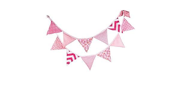 witgift Vintage Bunting Banderola banderín plástico ...
