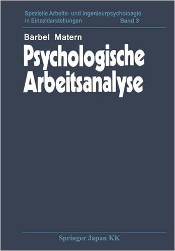 Descargar Ebook Torrent Psychologische Arbeitsanalyse De PDF A Epub