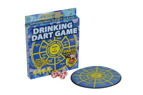 Fairly Odd Novelties Take a Shot Adult Party Drinking Dart Game ()