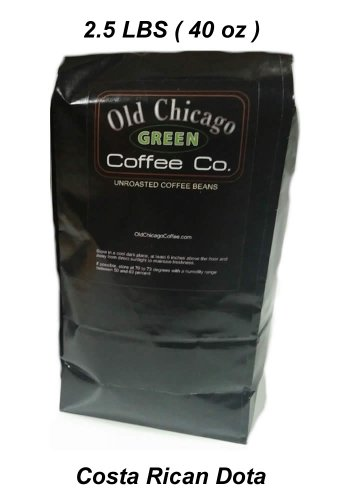 Costa Rican Dota Green Unroasted Coffee Beans - 2.5 LBS La Cumbre - Cup of Excellence Winner