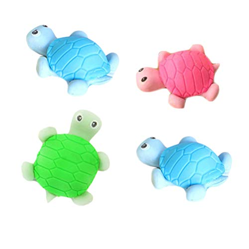 Shaped Puzzle Animals Zoo (STOBOK Cute Erasers Zoo Animal Shaped Erasers Tortoise Eraser for Kids Party Games (36pcs Random Color))