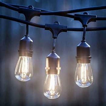 Hampton Bay 24 Ft 12 Light Filament Led String Light