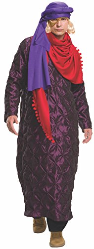 Rubie's Costume Co Zoolander 2 Hansel's Gold & Purple Costume & Wig, Multi, X-Large