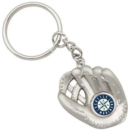MLB Seattle Mariners Baseball Glove Keychain
