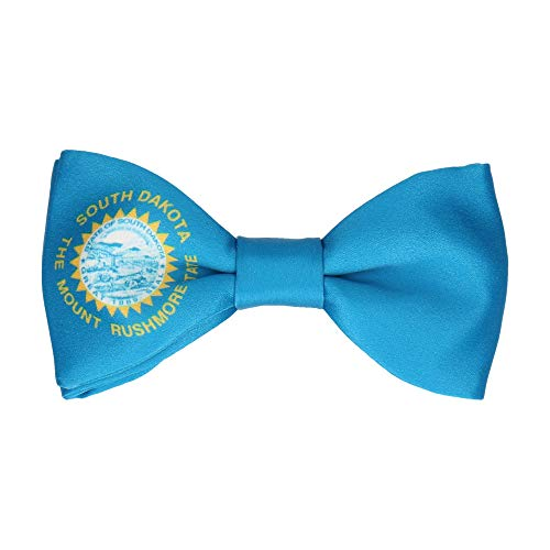 Mrs Bow Tie US State Flag Bow Tie, Pre-Tied - Flag of South Dakota