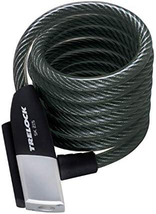 TRELOCK(トレロック) SK215/180 φ10mm×180cm コイルケーブルロック