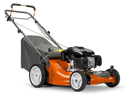 Electric Start Lawn Mowers - Husqvarna LC121FH Fwd Lawn Mower Gas