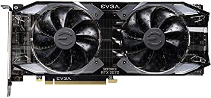 EVGA GeForce RTX 2070 XC Gaming, 8GB GDDR6, Dual HDB Fans & RGB LED  Graphics Card 08G-P4-2172-KR, Real Boost Clock: 1710 MHz