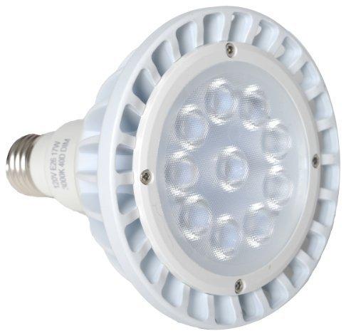 Avalon PAR38 17 Watt ( 75 Watt replacement) 1400 Lumen LED Light Bulb, Cool White 6000K, 15 Degree Light Beam Spread, Dimmable by Avalon LED
