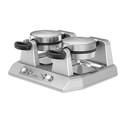 Double Belgian Waffle Maker 120V Waring Commercial WW250X