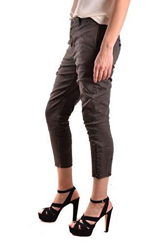 Golden Goose Pantaloni Donna MCBI139042O Cotone Marrone