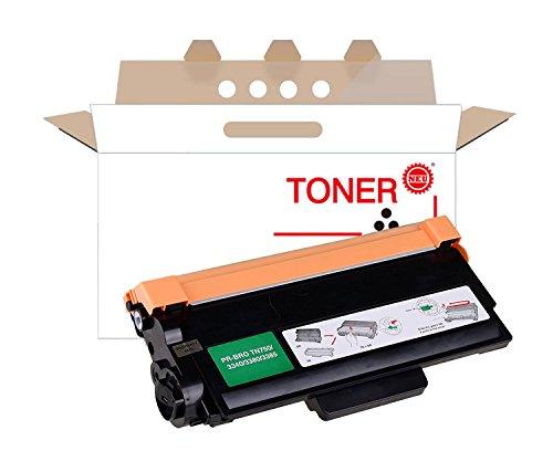 750 Black Toner - Toner Cartridge Compatible Replacement for Brother TN750 TN-750 TN720 High Yield Toner Cartridge (Black, 1 Pack)