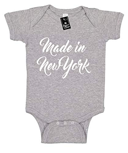 Infant Funny Baby Onesie Unisex T-Shirt Size 12 (Made in New York (City State)