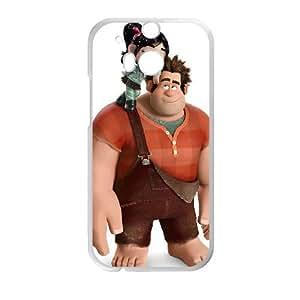 HTC One M8 Cell Phone Case White Wreck It Ralph Phone Case Fashion Custom XPDSUNTR14235