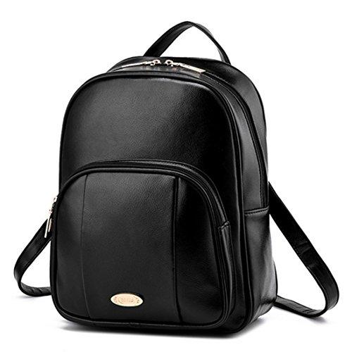FOLLOWUS - Bolso mochila  para mujer, rojo vino (rojo) - G72371A negro