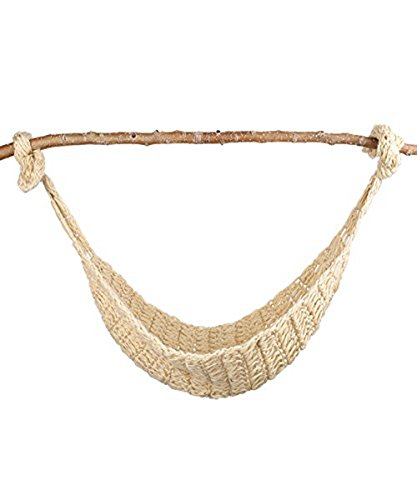 UOMNY Baby Newborn Photography Props Hammock Handmade Crochet Knitted Unisex Baby Outfit Photo Prop Baby Photography(Stick not Included)