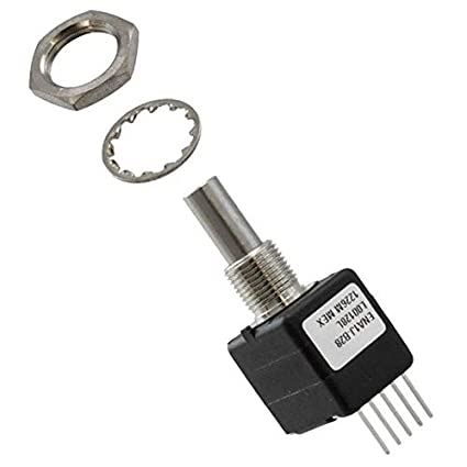 ENA1J-B28-L00128L Pack of 1 ROTARY ENCODER OPTICAL 128PPR