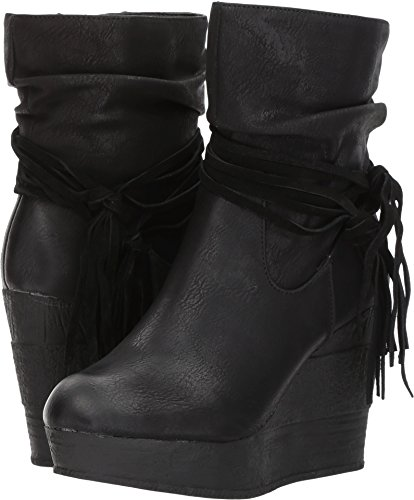 outlet 2015 newest sale online Sbicca Women's Elkie Wedge Booties Black best prices for sale sale online cheap TWrmIdG6