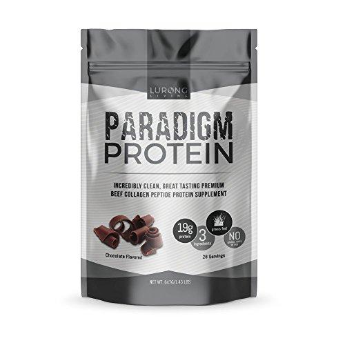 Paradigm Protein – Chocolate – Beef Collagen Protein – Keto, Paleo, Only 3 Ingredients