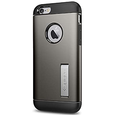 Spigen Air Cushion Corners Cell Phone Case for Apple iPhone 6/6s - Retail Packaging by Spigen, Inc.