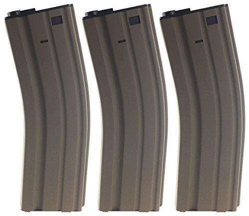 SportPro Jing Gong 450 Round Metal High Capacity Magazine for AEG M4 M16 3 Pack Airsoft – - Jing Gong Airsoft