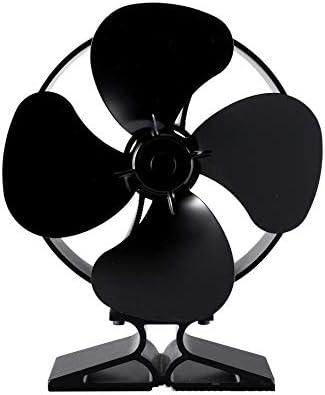 LULUVicky-Home Ventilador para Chimenea Estufa Ventilador Estufa ...