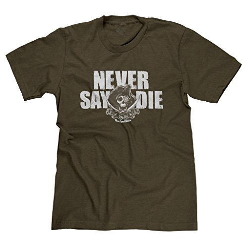 FreshRags Goonies Never Say Die Pirate T-shirt - 3 Colors - S to 4XL