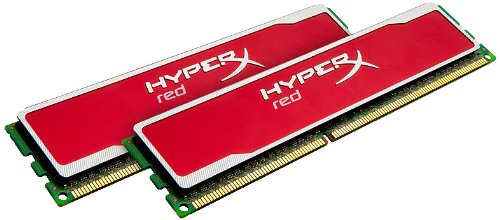 Kingston KHX16C9B1RK2/8X HyperX Red 8GB (4GB 512M x 64-Bit x 2 pcs.) DDR3-1600 CL9 240-Pin DIMM Kit